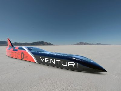 Electric Cars at Bonneville