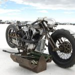 bike on salt