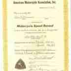 Burt Munro Record