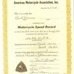 Motorcycle Land Speed Records